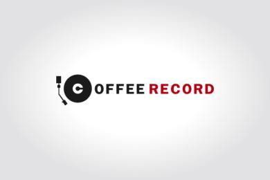 コーヒー豆通販「コーヒー・レコード」様のロゴマーク