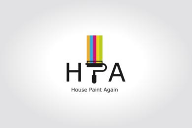 千葉県白井市の塗装会社「ハウスペイントアゲイン」様のロゴマーク